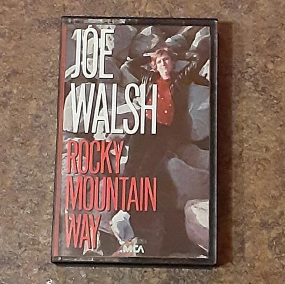 """Joe Walsh """"Rocky Mountain Way"""" Cassette Tape"""